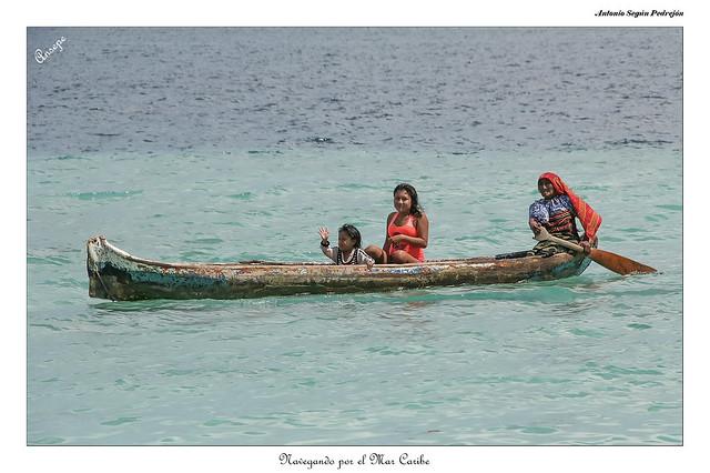 Navegando por el Mar Caribe
