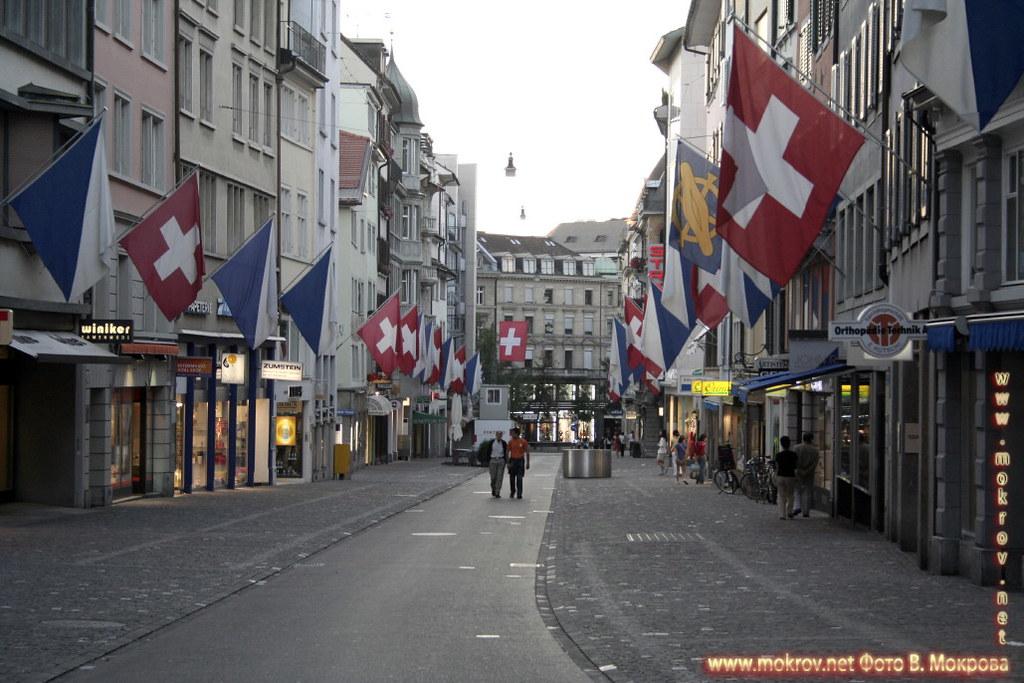 Исторический центр города Цюриха фоторепортажи