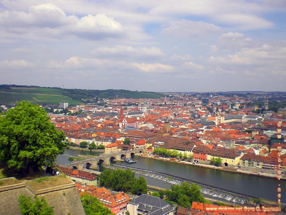 Исторический центр Вюрцбурга фото достопримечательностей