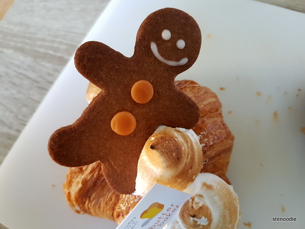 Gingerbread Man Croissant
