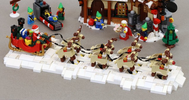 Updated Galloping Reindeer Instructions Jk Brickworks