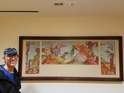 Aurelius Battaglia Painting