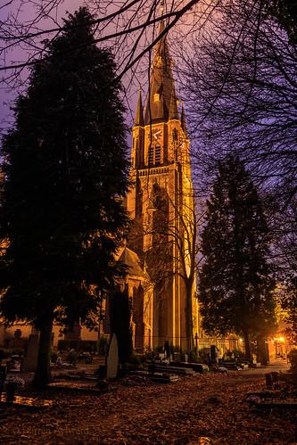 Onze Lieve Vrouw Visitatie Church, Budel, Netherlands.