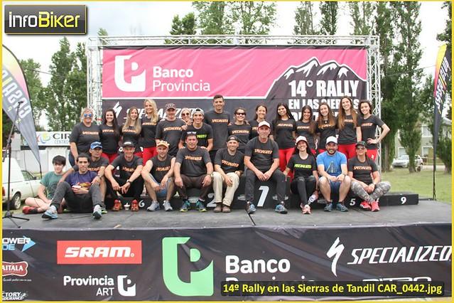 14º Rally en las Sierras de Tandil - Podios