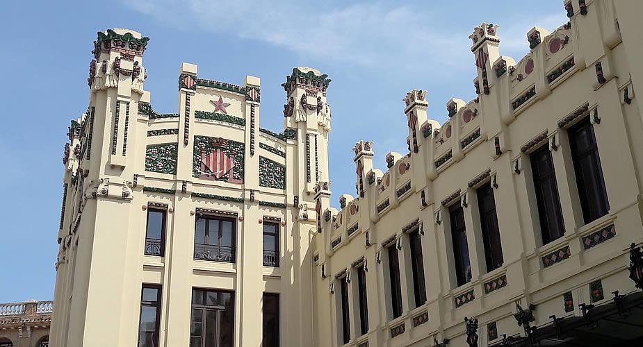 Bezienswaardigheden Valencia: Estacion del Norte | Mooistestedentrips.nl