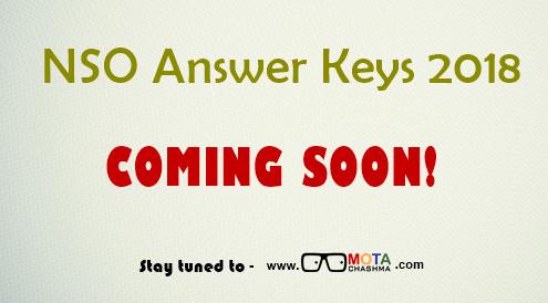 NSO Answer Keys