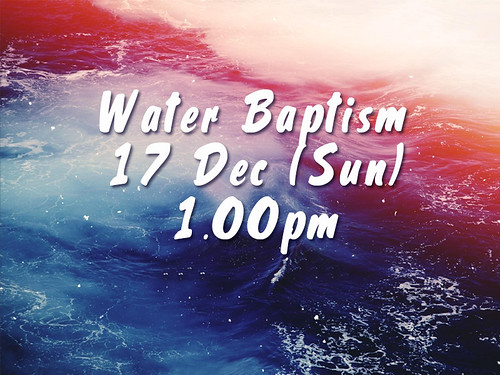 water baptism dec 17