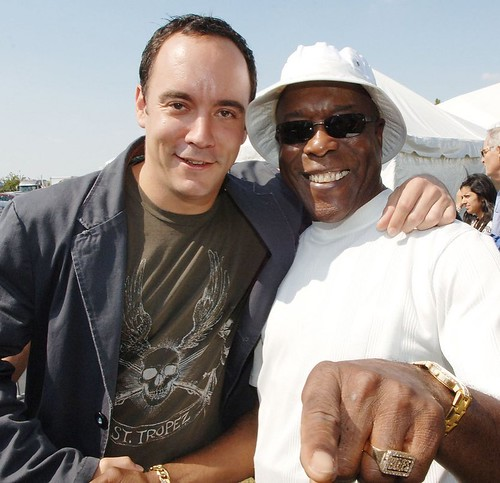 Dave Matthews and Buddy Guy at Farm Aid's 20th anniversary concert I n Chicago in 2005. #tbt