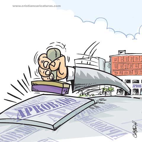 Caricatura APROBADO