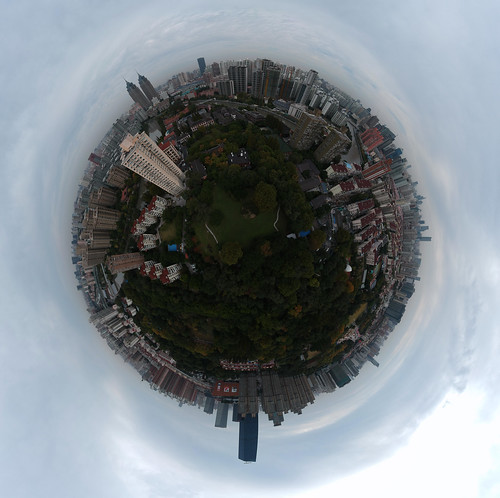 DJI Spark Spherical Pano - Shanghai, China