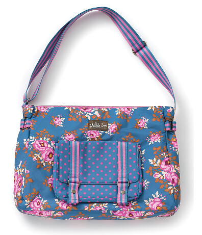 Matilda Jane floral messenger bag