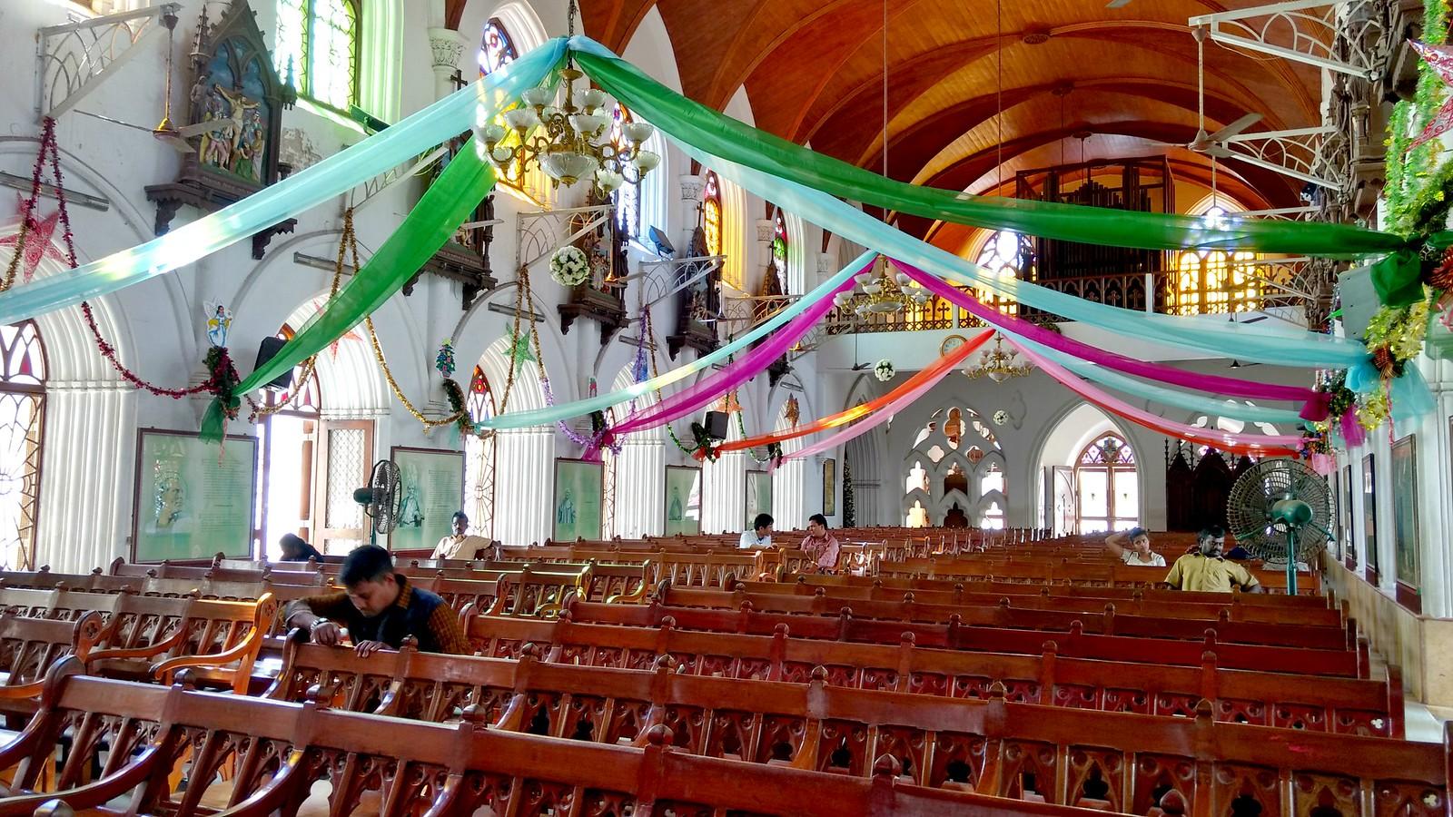Inside Santhome
