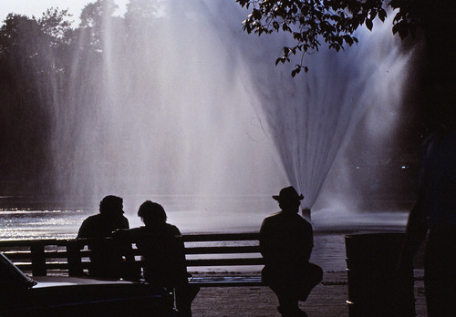 Frog Pond Boston Common 1983