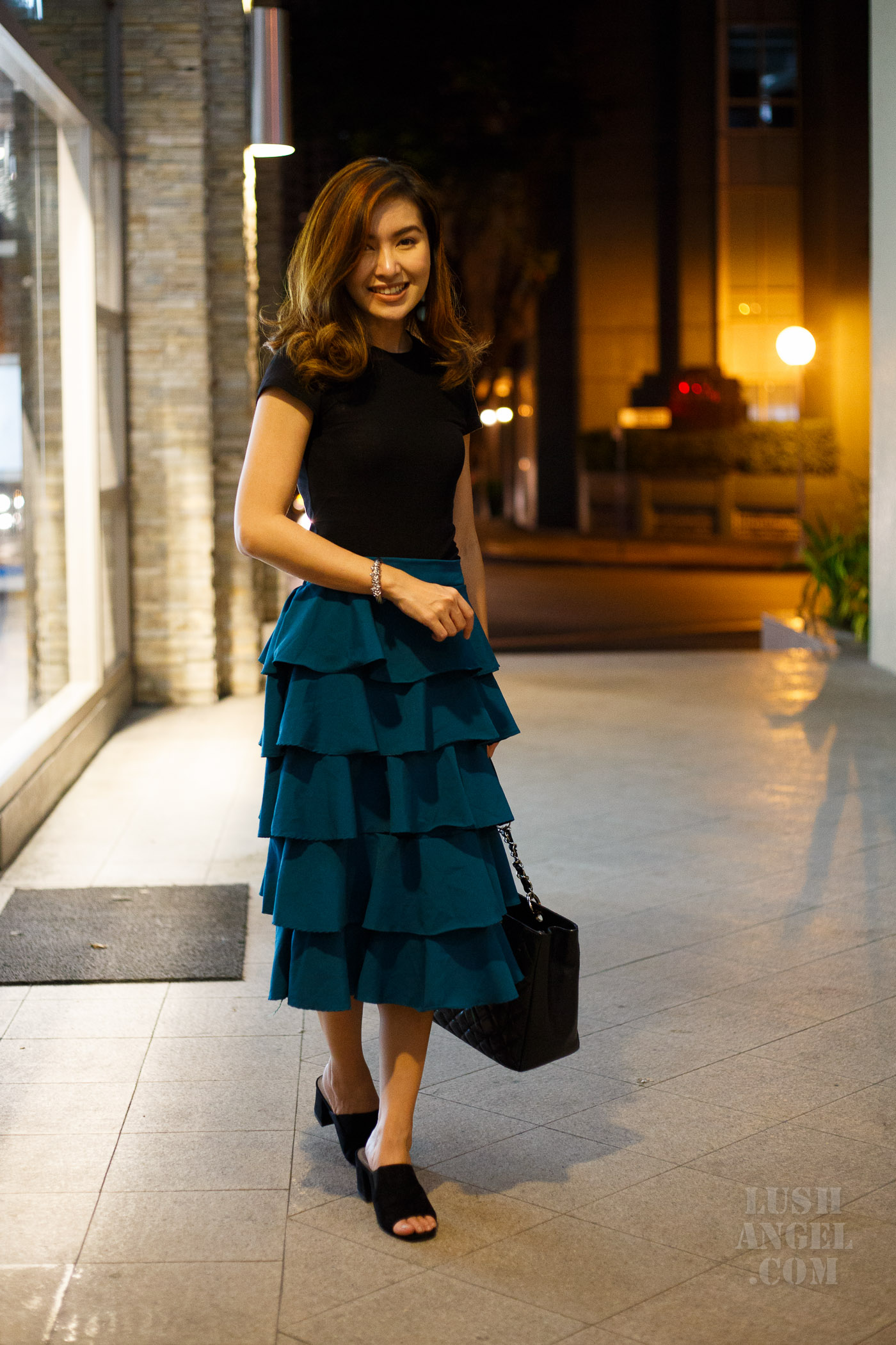 ruffled-skirt