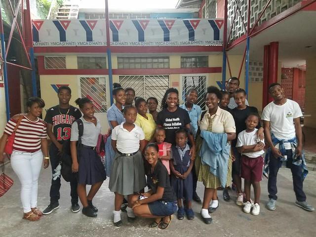 First time in Haiti