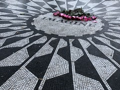 """Imagine"" Mosaic, Strawberry Fields, Central Park"