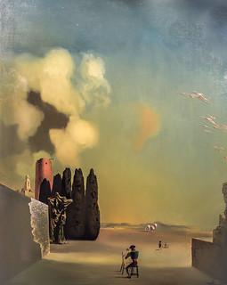 Elementos enigmáticos en un paisaje, Salvador Dalí