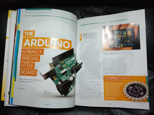 Jenny's hackspace arduino magazine article.