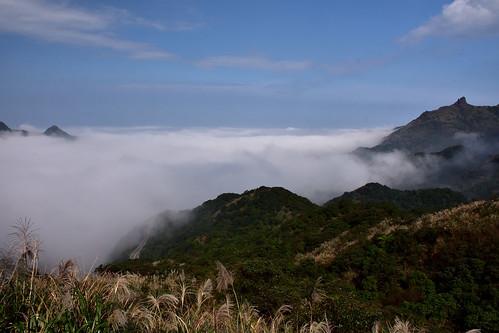 無耳茶壺山、基隆山雲海