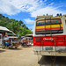 Bus station in Coron Island, Philippines