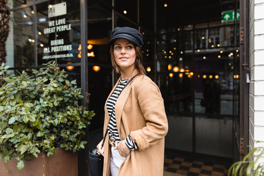 The Little Magpie Urban Outfitters Camel Coat Street Style