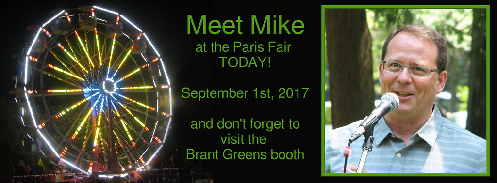 Meet Mike at the Paris Fair Today