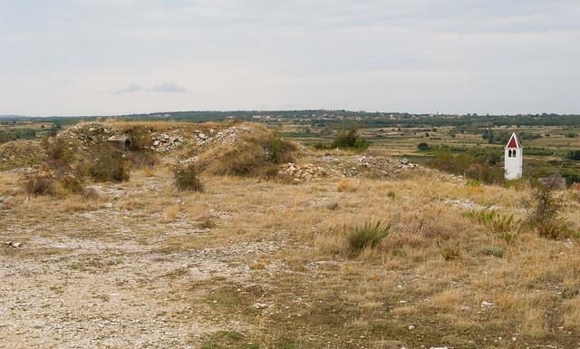 Bunker above Posedarje