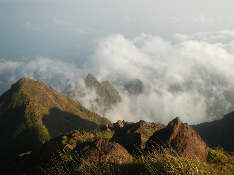 View from Mt. Guiting-Guiting's Summit