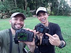 Black Oropendola selfie