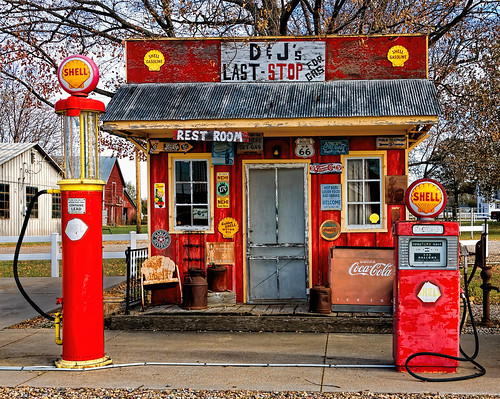 gasstation architecture