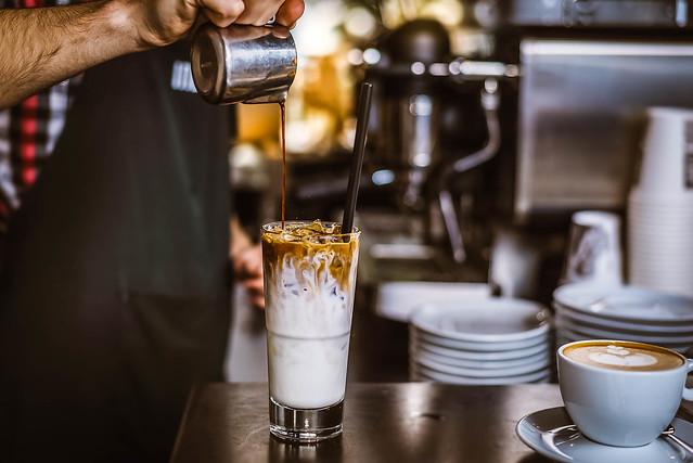 Dublin iced coffee with cream