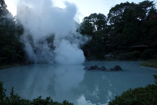Jigokudani - Hells Hot Springs (Beppu, Oita, Japan)