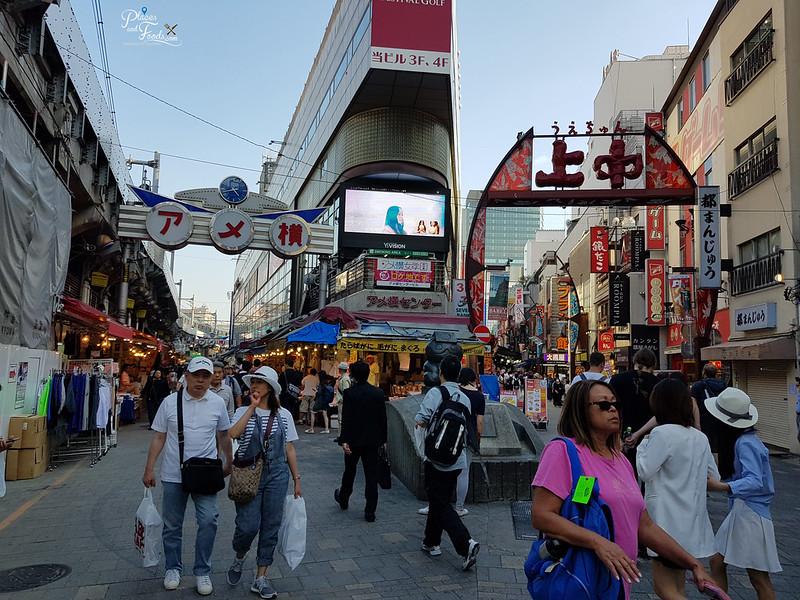 ameyoko shopping street tokyo