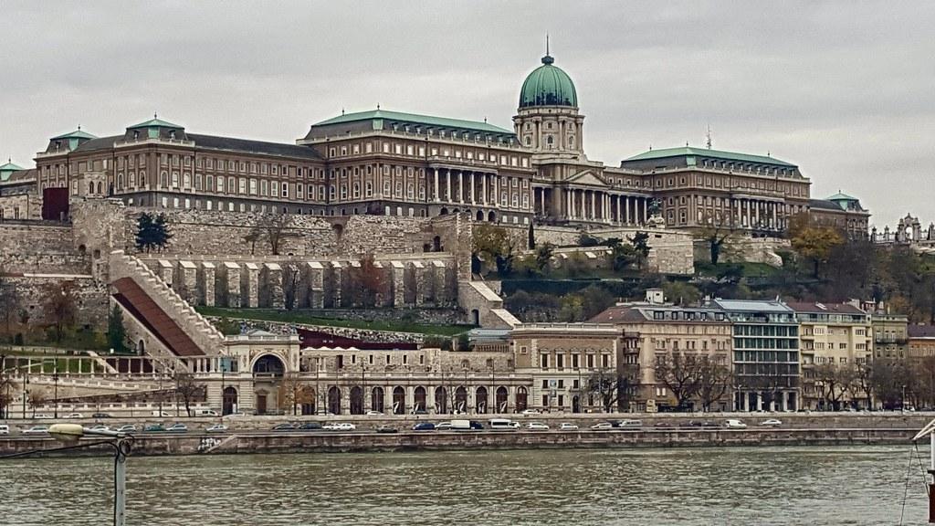 Buda Castle, Budapest. Hungary.
