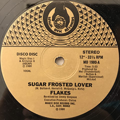 FLAKES:SUGAR FROSTED LOVER(LABEL SIDE-A)
