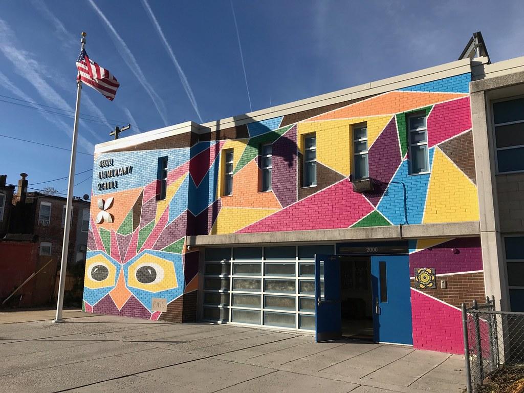 Cecil Elementary School/School No. 7, 2000 Cecil Avenue, Baltimore, MD 21218