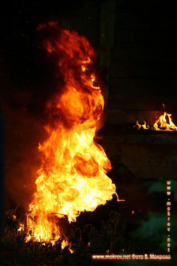 Мистика огня и фоторепортажи