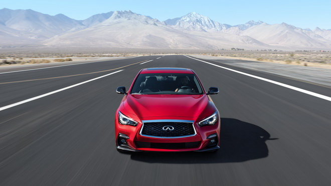 GENEVA (Mar. 7, 2017) – INFINITI has enhanced the Q50 premium sports sedan, which makes its global debut at the 2017 Geneva International Motor Show. The new Q50 features refreshed exterior and interior design, and innovative technologies designed to empo