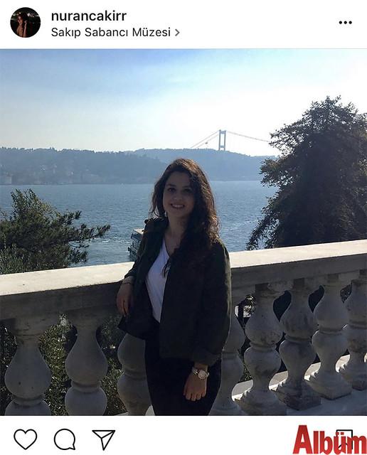 Nuran Çakır, Sakıp Sabancı Müzesi'ndeydi.