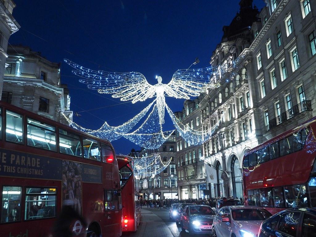 Lontoo jouluvalot