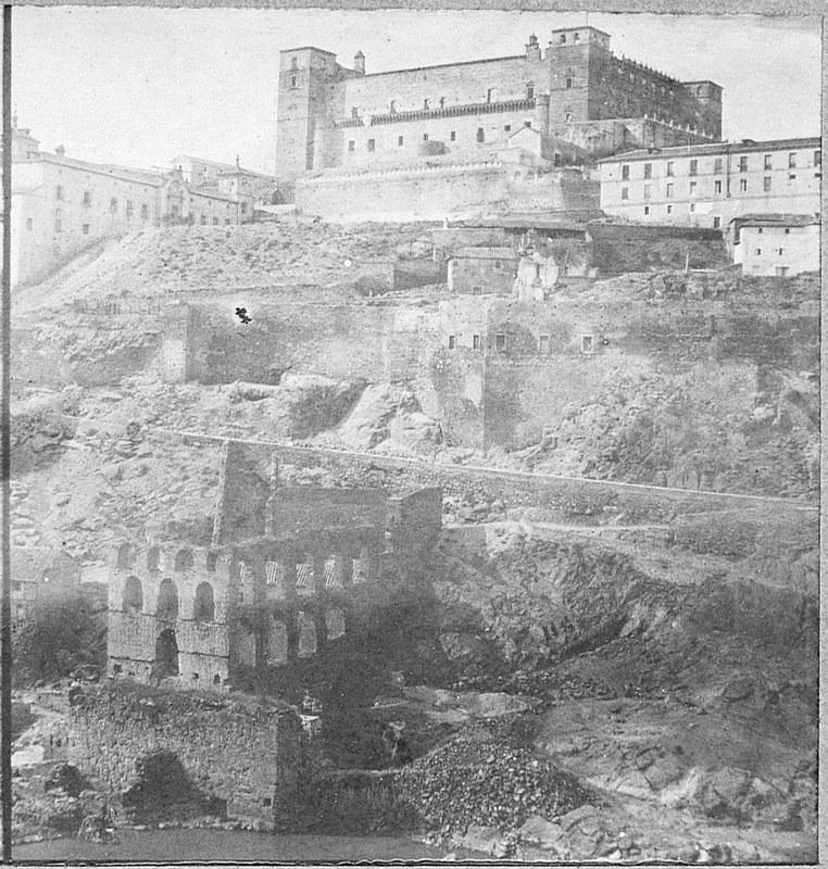 Artificio de Juanelo y Alcázar. Fotografía de Louis Léon Masson en 1857 © Real Academia de la Historia