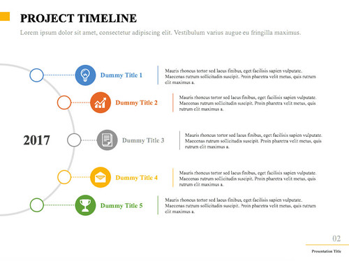 Project timeline 1