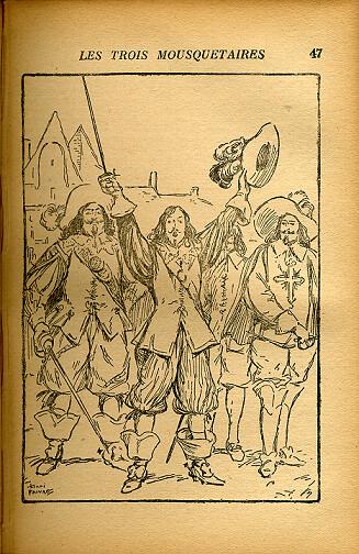 Les trois Mousquetaires, by Alexandre DUMAS