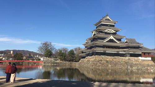 12月の国宝 松本城