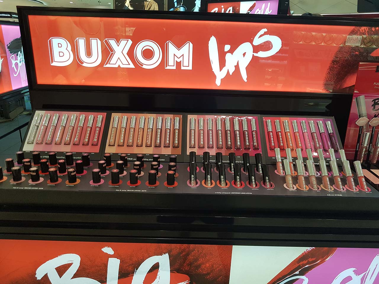 My Autumn Beauty Day: Catching Up With Favourite Brands [Part 1] - Buxom Cosmetics