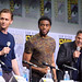 Tom Hiddleston, Chadwick Boseman, and Mark Ruffalo