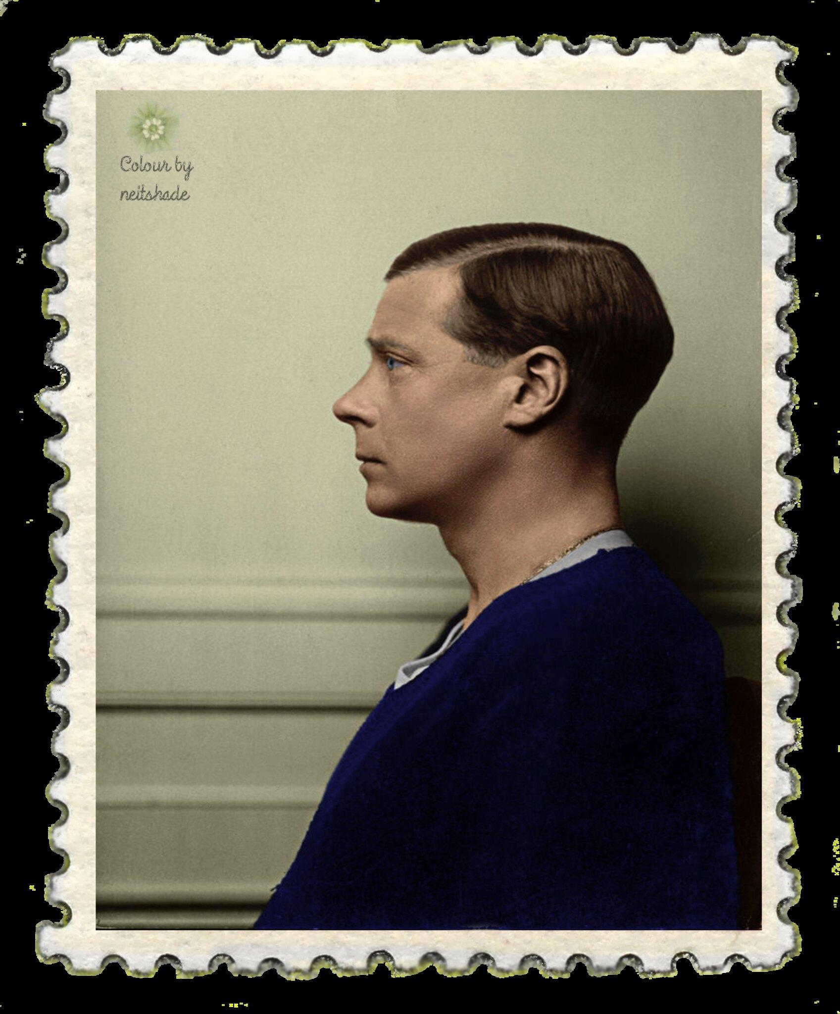 Portrait of Edward VIII by Hugh Cecil, 1936.