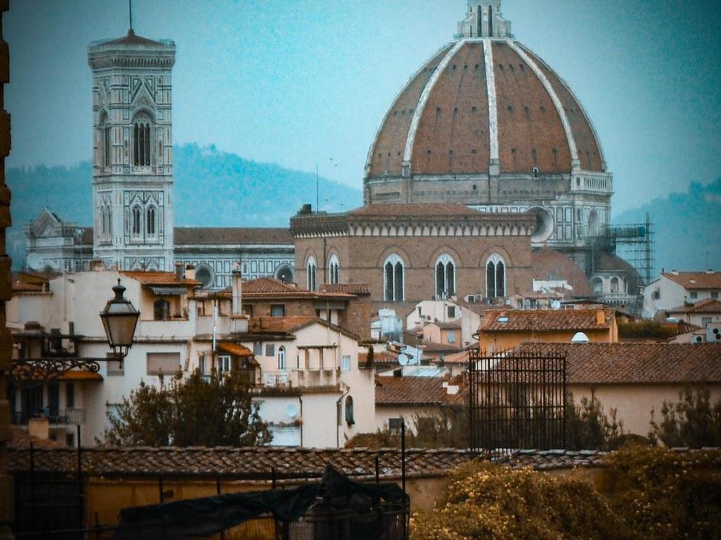 Una Terrazza Con Vista Duomo Have A Good Day From Florenc
