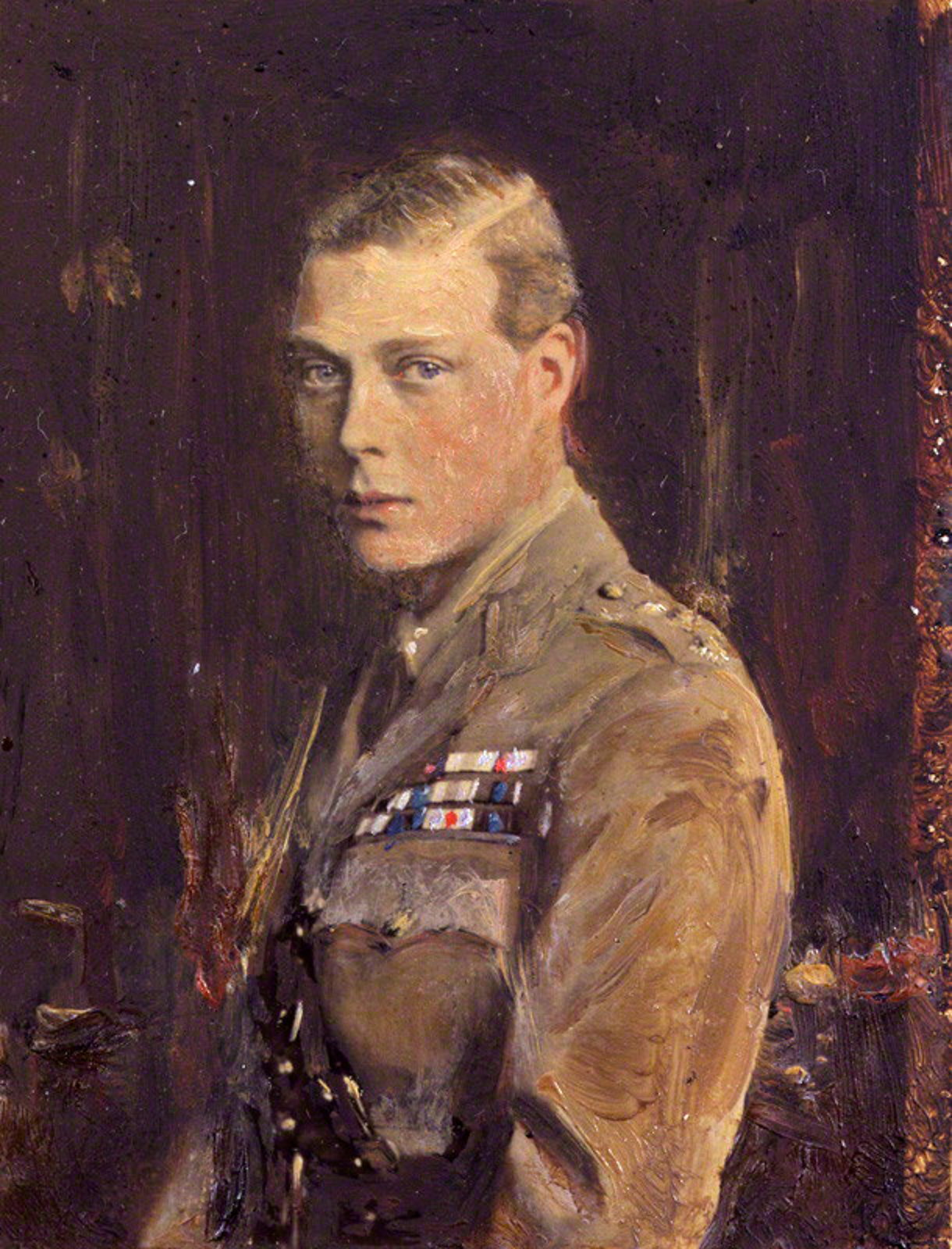 Portrait of Edward by Reginald Grenville Eves, circa 1920.
