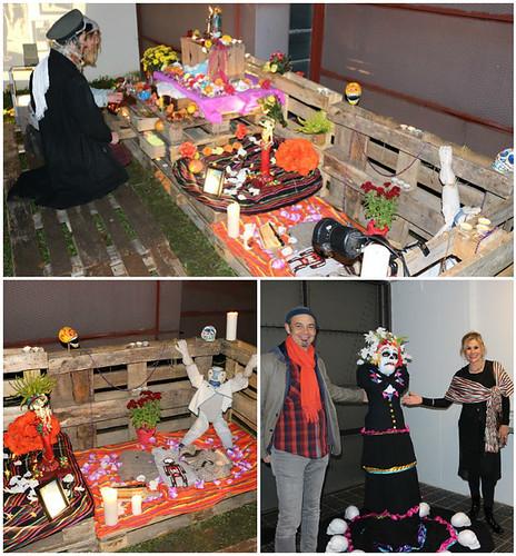 Festejo del Día de Muertos en el teatro de Alfréd ve Dvoře